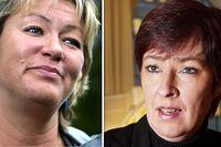 Ylva Johansson och Mona Sahlin (s).