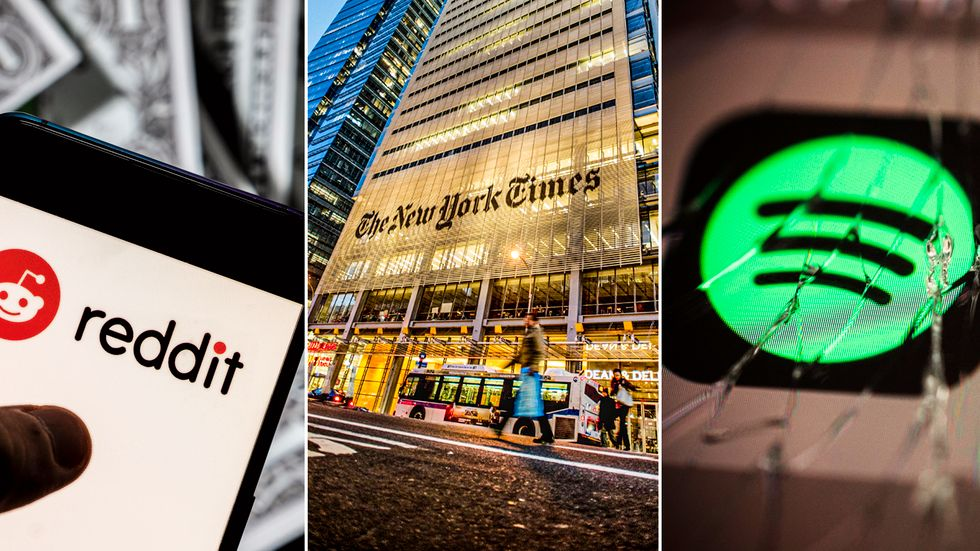 Flera tunga internetsajter hade vid lunchtid på tisdagen stora problem. Det handlar både om nyhetstjänster som The Guardian, New York Times och Financial Times och e-handelsjätten Amazon.