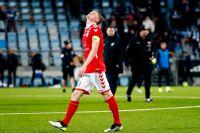 Kalmars Rasmus Elm deppar efter förlusten mot IFK Norrköping.