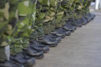 En gasbinda som används på fötter inom försvaret ser ut att ha orsakat svårläkta sår och blåsor. Arkivbild.