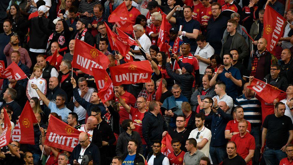 Manchester United-supportrar attackerades inför Europa League-finalen. Arkivbild.
