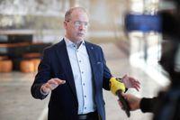 AB Volvo, med vd Martin Lundstedt, siktar på produktion av bränsleceller i Europa tillsammans med Daimler AG. Arkivbild.