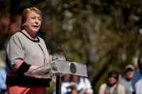 Chiles president Michelle Bachelet har drivit på lättandet av landets abortlagstiftning. Arkivbild.