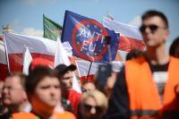 Nationalistisk demonstration i Warszawa den 1 maj.