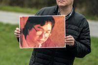 Den svensk-kinesiske förläggaren Gui Minhai har suttit frihetsberövad i Kina i flera år. Arkivbild.