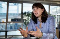 Åsa Romson, språkrör för MP.