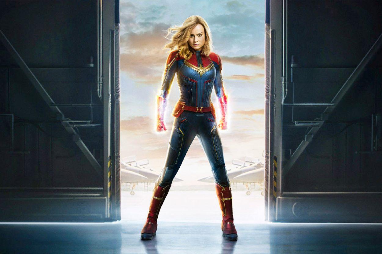 """Brie Larson i """"Captain Marvel""""."""