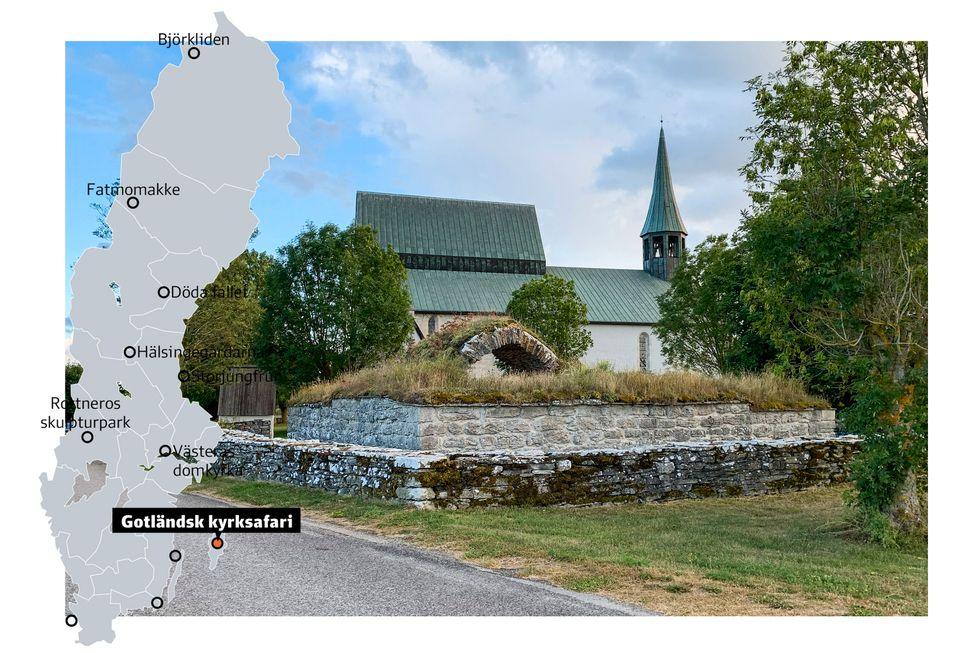 Lau kyrka.