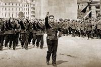 Medlemmar av det fascistiska Järngardet 1940.