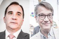 Stefan Löfven (S) och Göran Hägglund (KD).