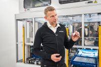 Batteritillverkaren Northvolts vd Peter Carlsson.