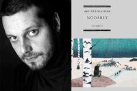 """Aki Ollikainen, född 1973, är fotograf och journalist bosatt i norra Finland. Hans hyllade debutroman """"Nödåret"""" handlar om den stora finska svältkatastrofen och nominerades bland annat till Internationella Bookerpriset."""