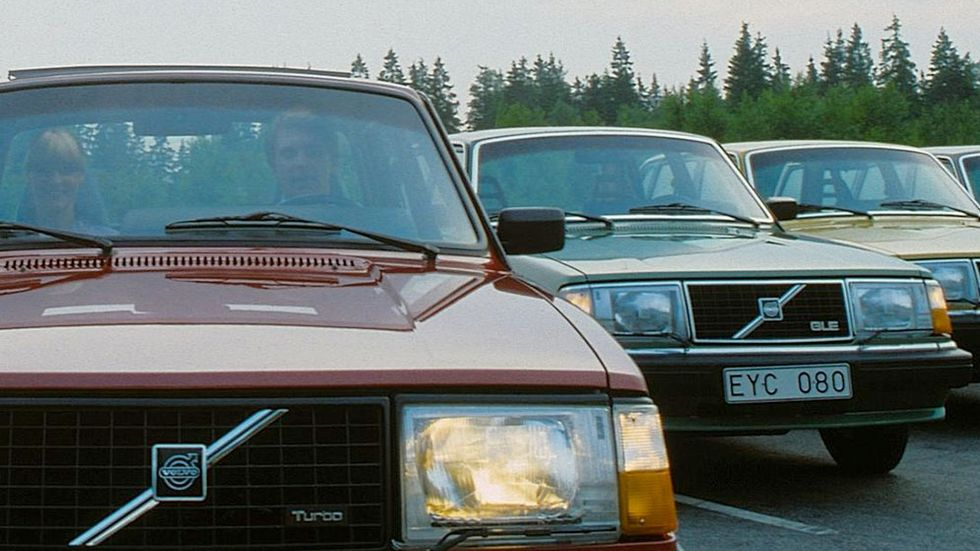 Volvo byggde totalt 2 862 413 exemplar av 240.