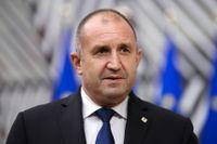 Parlaments- och presidentval väntar Bulgarien i november, enligt president Rumen Radev. Arkivbild.