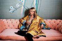 """Hemma hos Kate Moss: """"Mina fester slutar alltid i badrummet"""""""