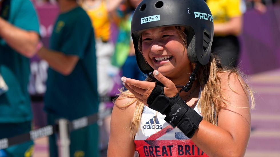 Sky Brown tog brons i skateboard i Tokyo, men kan komma att även tävla i surfing i Paris-OS.