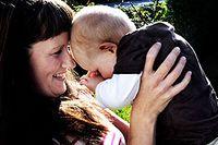 Jenny Havenro med sonen Elvin.