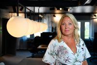 Johanna Jaara Åstrand, ordförande för Lärarförbundet, kallar det förebyggande smittskyddsarbetet i skolorna för ett hån. Arkivbild
