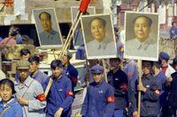 Rödgardister i Peking 1966.