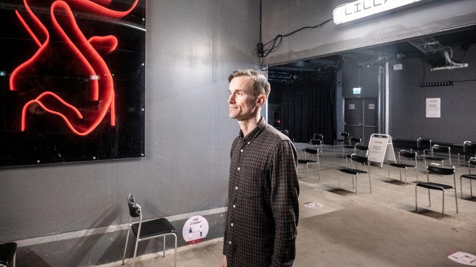 Christoffer Berg, affärschef för covid-vaccination hos Doktor24.