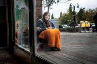 Miora Maria, fyrabarnsmamma och tiggare. Kommer från Rumänien men bor i Moldavien.