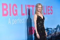 "Nicole Kidman spelar Skarsgårds hustru i ""Big little lies"". Arkivbild."