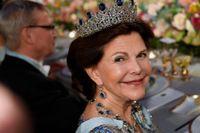 En ofejkad bild på Drottning Silvia. Arkivbild.
