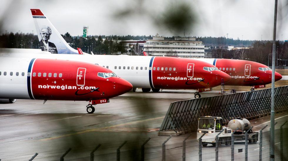 Norwegian rasar och småspararna slänger sig över aktien.