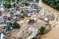 Skyfallen som drabbade Tyskland i mitten av juli orsakade stor förödelse.
