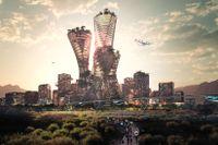 Framtidsstaden Telosa utlovar social, ekonomisk och miljömässig hållbarhet.