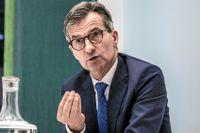 Erik Thedéen, Finansinspektionens generaldirektör.