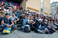 """Partiledaren Annie Lööf kallade förslaget till gymnasielagen för """"illa utformat och illa framtaget"""" – ändå röstade Centerpartiet för lagen, av påstått humanitära skäl."""