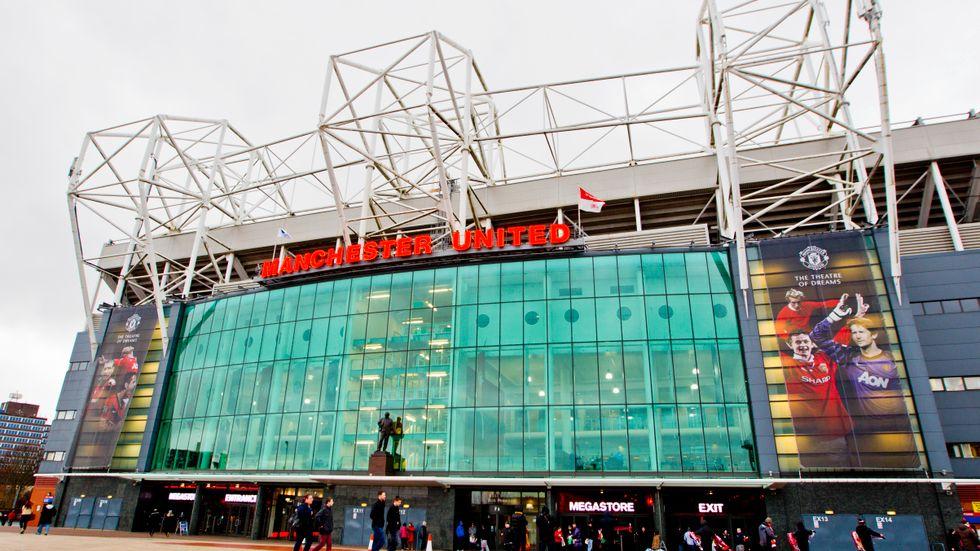 Manchester United blev på fredagen utsatt för en cyberattack. Arkivbild.