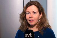 Cecilia Wikström går till pr-byrån Prime. Arkivbild.