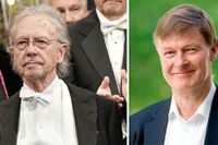 Valet av Peter Handke upprör Bengt Nordén.
