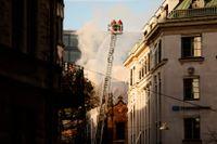 Förra året brann ett hus vid Stureplan i centrala Stockholm ned till grunden.  Att det utbryter storbränder i våra städer är idag annars ovanligare än förr.