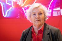 """Hjördis Wester ser fram emot fulla salonger på Kulturhuset Stadsteaterns föreställningar: """"Nu kan vi vara 140 personer i publiken på Soppteaterns scen igen!"""""""