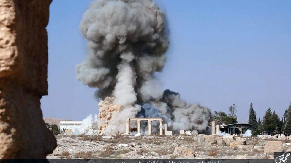 IS förstörelse av Palmyra.