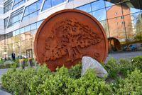 Swedbank bekräftar att det har väckts åtal för misstänkt penningtvätt mot före detta anställda i Lettland. Arkivbild