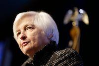 Fed-chefen Janet Yellen.