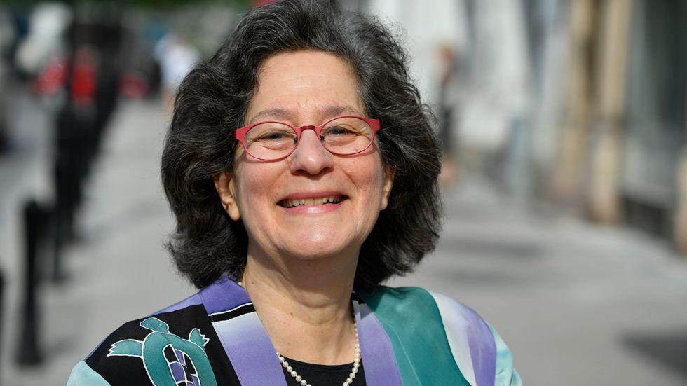 """""""Jag är mer optimistisk än vad jag har varit på länge, trots den politiska förvirringen"""", säger Susan Solomon, atmosfärkemist och Crafoordprismottagare."""