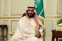 Kronprins Mohammed bin Salman annonserade planerna på den nya handelszonen i Oktober. Arkivbild.