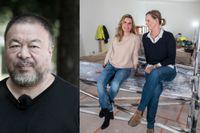 Ebba Borzognia och Anna Persson driver Galerie Forsblom i Stockholm.