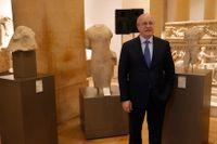 Libanons kulturminister Ghattas Khoury.