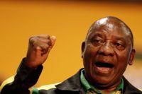 Cyril Ramaphosa, ANC:s nya ledare.