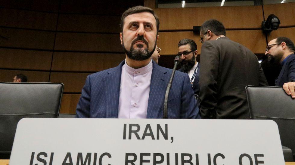 Irans sändebud till FN:s atomenergiorgan IAEA, Kazem Gharibabadi, säger att ett besök är planerat nästa vecka. Arkivbild.