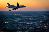 Dassault Aviations affärsplan Falcon 7X.