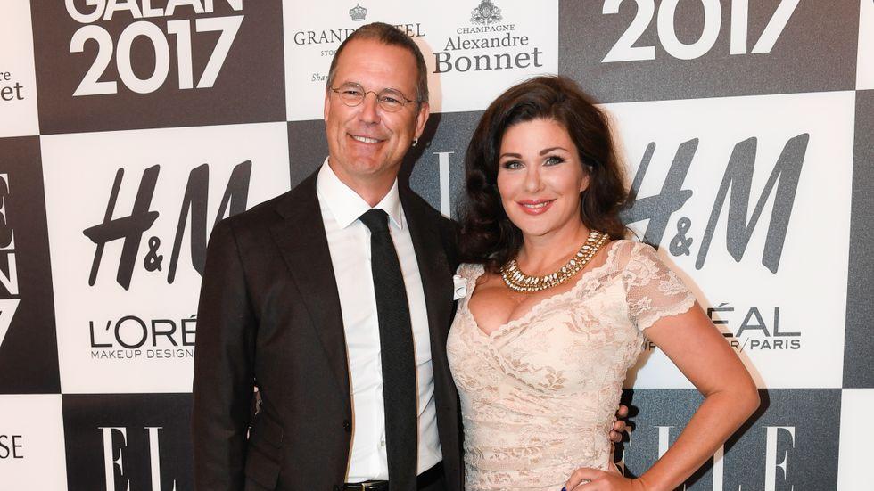 Anders Borg och Dominika Peczynski. Arkivbild.