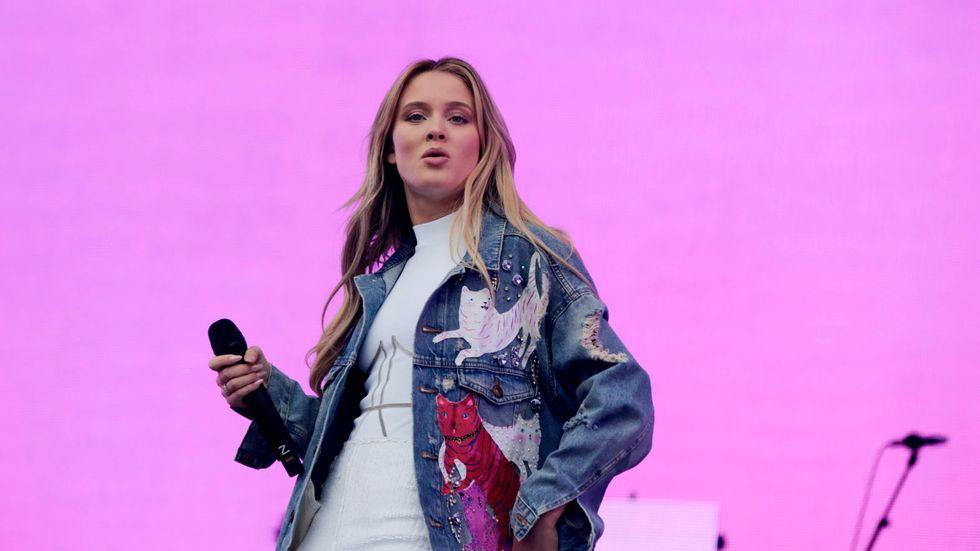 Zara Larsson uppträder på Summerburst i Göteborg.