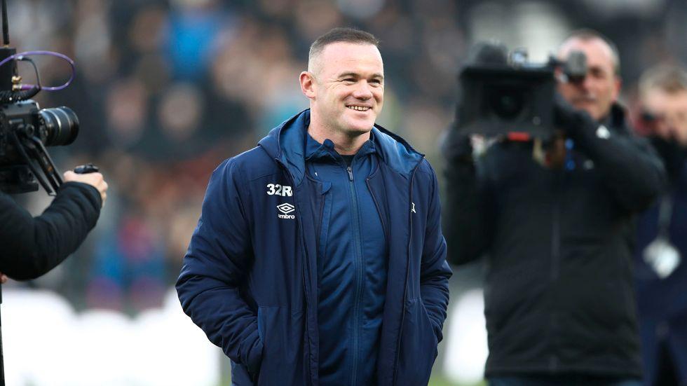 Wayne Rooneys Derby är illa ute ekonomiskt och har beslutat att ansöka om rekonstruktion. Arkivbild